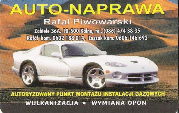 AUTO-NAPRAWA Rafał Piwowarski