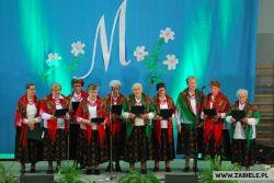 Zespół Zabielanki - X Festiwal Pieśni Maryjnej w Wąsewie