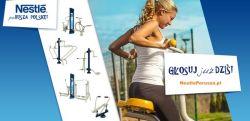 Głosuj na siłownię terenową od Nestlé w Zabielu!