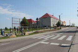 Nowe ogrodzenie ZSS w Zabielu |Fot.www.gminakolno.pl