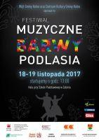 Zapraszamy na festiwal Muzyczne Barwy Podlasia