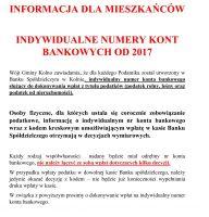 Informacja dla Mieszkańców Gminy Kolno