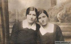 Józefa i Anna Bazydło