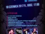 Plakat - Noc Świętojańska w Koźle 2017