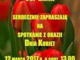 Zaproszenie na Dzień Kobiet do Zabiela