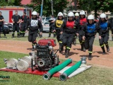 OSP Zabiele w ćwiczeniu bojowym