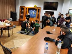 Recertyfikacja kursu Kwalifikowanej Pierwszej Pomocy | Fot. www.gminakolno.pl