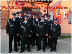 80-lecie Ochotniczej Straży Pożarnej w Zabielu